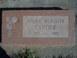 Velma Jennie <i>Meredith</i> Cartier