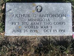 Pvt Arthur Clarence Antonson