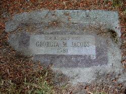 Georgia M Jacobs