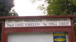 Shabbington St Mary Magdalene Churchyard