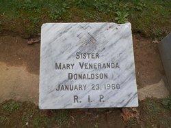 <i>Sister Mary Veneranda</i> Donaldson