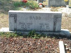 Samuel Robert Babb