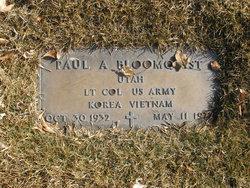 LTC Paul A Bloomquist