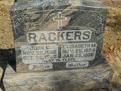 Elizabeth <i>Wekenborg</i> Rackers