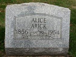 Alice <i>Swisher</i> Arick
