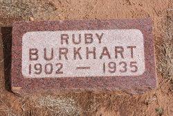 Ruby <i>Metcalf</i> Burkhart