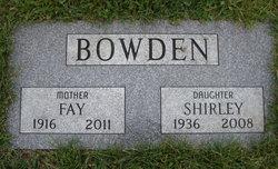 Fay <i>Cerne</i> Bowden