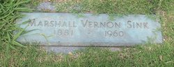 Marshall Vernon Sink, Sr