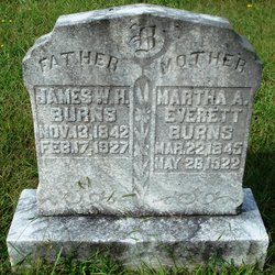 Martha Adline <i>Everett</i> Burns