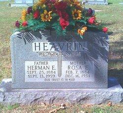 Herman Edward Heavrin