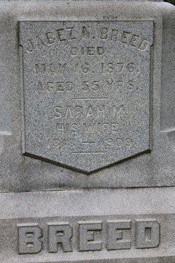 Sarah M <i>Daniels</i> Breed