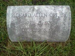 Richard Allen Opt, Jr