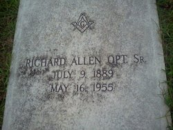 Richard Allen Opt, Sr