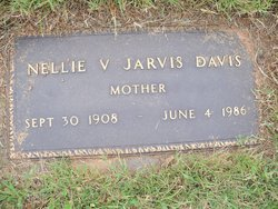 Nellie V. <i>Jarvis</i> Davis