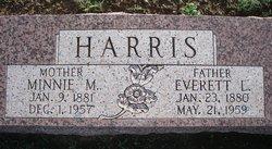 Minnie Mae <i>Wren</i> Harris