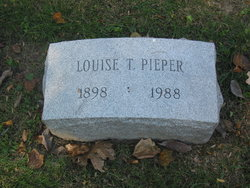 Louise <i>Teasdale</i> Pieper
