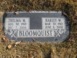 Thelma M Bloomquist