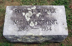 Roxie Lee <i>Walker</i> Armstrong