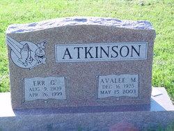 Err G. Atkinson