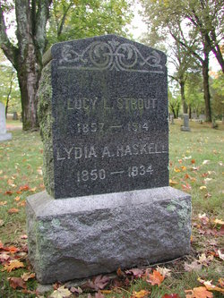 Lydia A. <i>Strout</i> Haskell