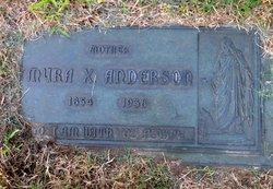 Myra X <i>Peck</i> Anderson
