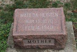 Matilda Tillie <i>Gieger</i> Heisten