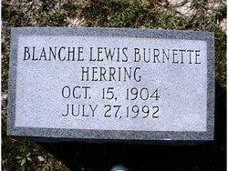 Blanche Lewis <i>Burnette</i> Herring