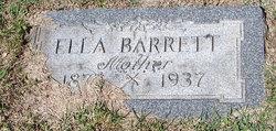 Ellen Ella <i>McAuliffe</i> Barrett