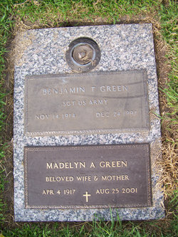 Madelyn A Green