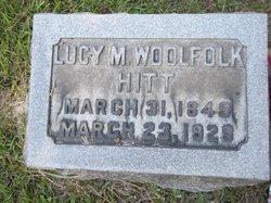Lucy M. <i>Woolfolk</i> Hitt