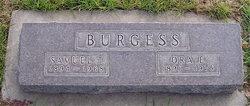Ora Elsie <i>Haining</i> Burgess