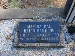 Marsha Rae <i>Hatch</i> Hamilton