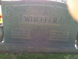 Geneva L <i>Webster</i> Wheeler