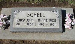 Minnie Rose <i>Beuttel</i> Schell