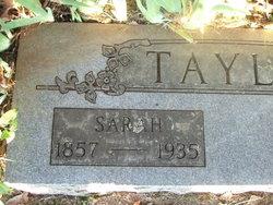 Sarah Angeline <i>Rhoten</i> Taylor