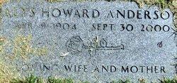 Alys <i>Howard</i> Anderson