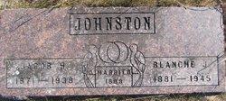 Blanche Jesse <i>Maxwell</i> Johnston