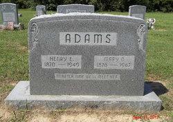 Mary Drucilla <i>Ruffin</i> Adams