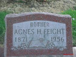 Agnes Jane Agie <i>Heidlebaugh</i> Feight