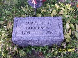Burdette F. Goodenow