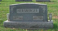 Harriet Pearl Hattie <i>Hoffman</i> Hersberger