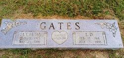 Lucretia <i>Hooker</i> Gates
