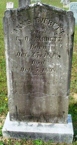 Annis <i>Everett</i> Barnett