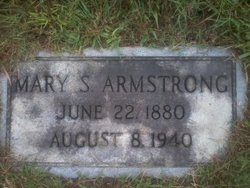 Mary Evonia <i>Stewart</i> Armstrong