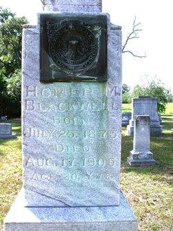 Homer M Blackwell