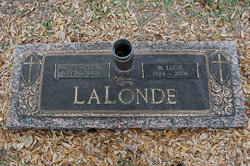 Mary Ludie <i>Lanclos</i> Lalonde
