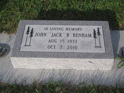 John R Jack Benham