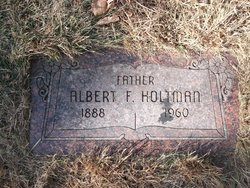 Albert Ferdinand Holtman