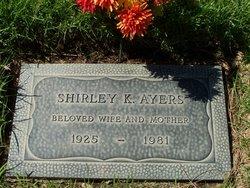 Shirley K <i>Kershaw</i> Ayers