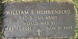 William E Mehrenberg